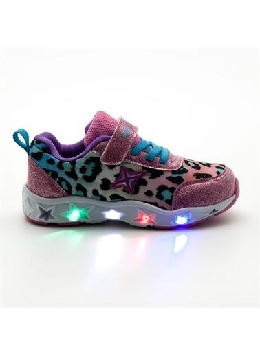 Noxis Noxis Dance Işıklı Kız Çocuk Yürüyüş ve Spor Ayakkabısı Pembe